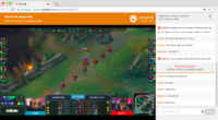 Playeek live streaming con chat