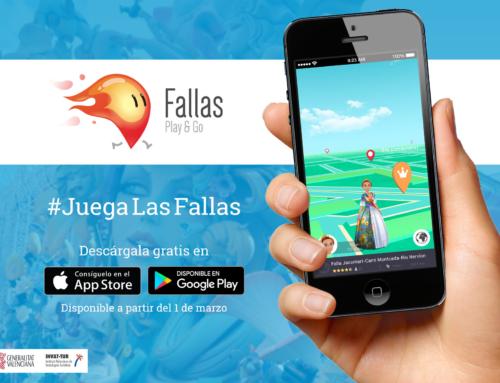 Fallas Play&Go, el Pokemon Go de las Fallas de Valencia.