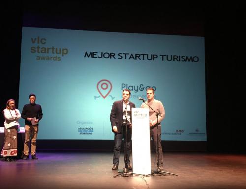 Play&go, premiada como Mejor Startup de Turismo de Valencia